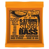 ERNIE BALL Senar Bass 6-String Slinky Bass Long Scale Nickel Wound [2838] - Senar Bass